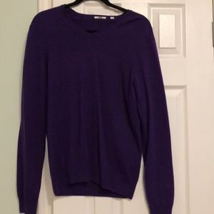 Mens Uniqlo Cashmere Sweater